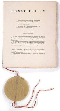 La Constitution de la Vème