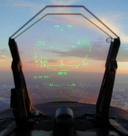 F-18 HUD
