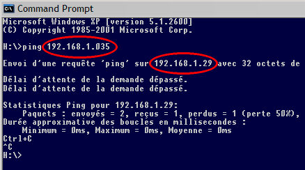 Sous Windows...