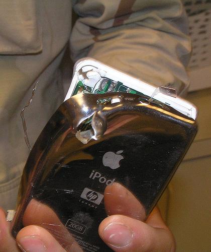 iPod sauveur
