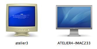 Les Mac et les PC selon Mac OS