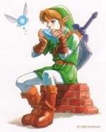 Link et son ocarina