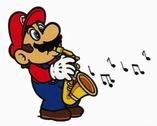 Mario au saxo