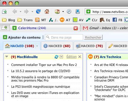 NetVibes hacké ?